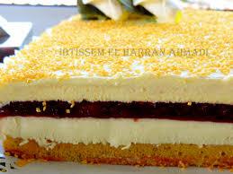 cuisine tunisienne gateau gâteau crémeux au sabayon mascarpone délice bonheur cuisine