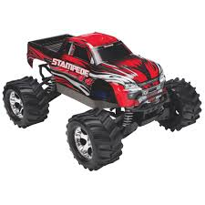 traxxas stampede 4x4 4wd 1 10 scale rc monster truck red rc