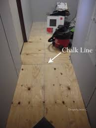 How To Fix Squeaky Hardwood Floors Baby Powder by Laundry Room Makeover U2013 How To Repair A Floor And Lay New Flooring