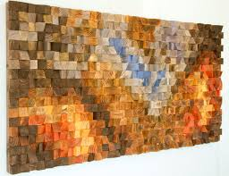 wood wall geometric wood mosaic the hell s gate