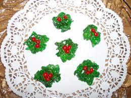 holly christmas cookies recipe genius kitchen