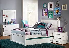 Full Size Bedroom Sets For Cheap Shop For A Quake White 5 Pc Full Panel Bedroom At Rooms To Go Kids