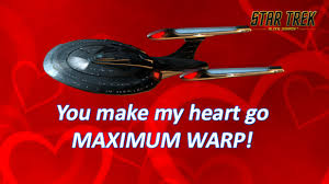 trek valentines day cards want the s day card for the trekkie in your