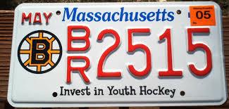 ny vanity plates chris woodcock u0027s hockey license plates