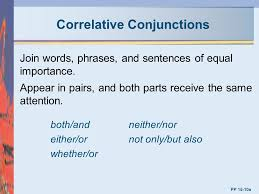 chapter 15 conjunctions mcgraw hill irwin ppt video online download