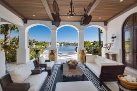 Mediterranean Style House by Tour A Mediterranean Style Waterfront Home In Coral Gables Fla