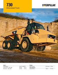 kw truck equipment 730 articulated truck caterpillar equipment pdf catalogue