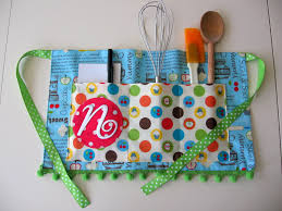 my blonde ambitions quick and easy child u0027s apron tutorial
