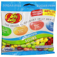 jelly belly sugar free sours mix 3 1 oz bag half nuts