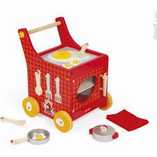 cuisine janod janod chariot de cuisine the cocotte achat en ligne sur