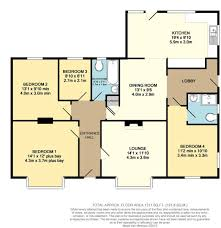 Four Bedroom Bungalow Floor Plan 4 Bedroom Detached Bungalow For Sale In Withernsea Road Hollym