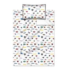 amazon com nfl all team twin sheet set sports fan throw