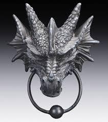 decorative door knockers ancient warrior dragon head decorative door knocker with metal ring