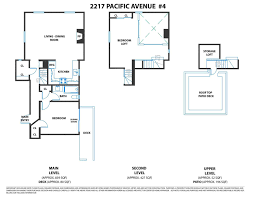 Floor Plan Of Graceland 2217 Pacific Avenue 4 San Francisco Ca 94115 Sold Listing