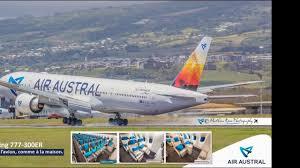 siege boeing 777 300er air air austral nouveau boeing 777 300 er f olrd