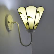 Stained Glass Wall Sconce Wall L Countryside Stained Glass Wall Sconce Mirror