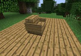 How To Make A Seat Cushion For A Bench How To Make Furniture In Minecraft Minecraft Wonderhowto
