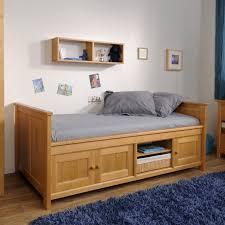 Solid Pine Furniture Cool Solid Pine Bed Frame Under Bed Storage Kids Kids Bedding