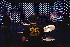 new permanent light installation at kexp reimagines live room