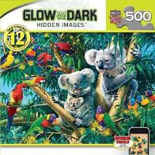 canap kaola images glow in the puzzle koala camp steve read 500 pcs