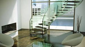 Glass Stair Handrail Glass Stair Rails Gl Stair Railing Decoration Concept Best Home