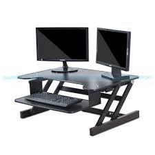 Laptop Desk Stand Easyup Height Adjustable Sit Stand Desk Riser Foldable Laptop Desk