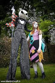 skellington and sally couples costumes nightmare before