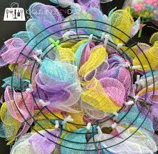 Easter Decorations With Deco Mesh by 140 Best Wreaths Images On Pinterest Wreath Ideas Deco Mesh