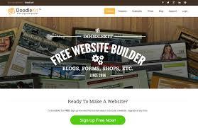 doodlekit login top 10 saas services to build a business website business