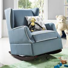 Nursery Room Rocking Chair by Baby Relax Hudson Wingback Rocker Hayneedle