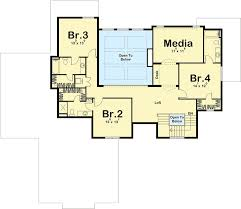 House Plans With Media Room Exciting Craftsman House Plan With Media Room 62670dj