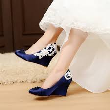 wedding shoes wedges satin blue wedding shoes wedge wedding shoes comfortable wedge
