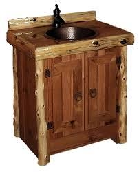 Log Vanity All Of Our Rustic Vanities U2014 Barn Wood Furniture Rustic Barnwood