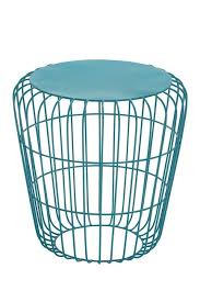 Turquoise Side Table Uma Turquoise Metal Round Wire Side Table Nordstrom Rack