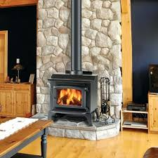 Fireplace Electric Insert Replace Gas Fireplace With Wood Stove Insert Installing Wood