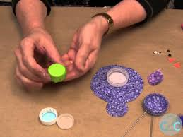 diy favorite craft project in 2012 bottle cap birdie youtube