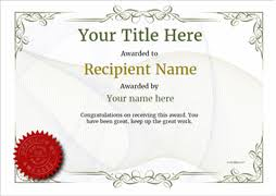 free certificate templates simple to use add printable badges