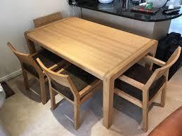 Habitat Dining Table Habitat Radius 6 Seat Oak Dining Table And 4 Radius Oak Chairs