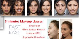 online makeup classes free korean makeup class free skin analysis door gift worth rm75