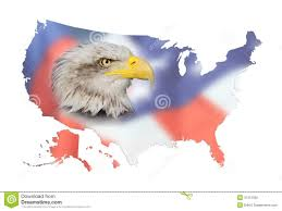 A Map Of Usa by Map Of Usa Flag And Bald Eagle Stock Photo Image 31312500