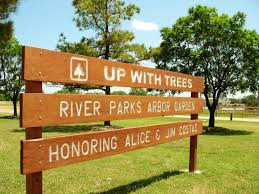 up with trees why wooden signs