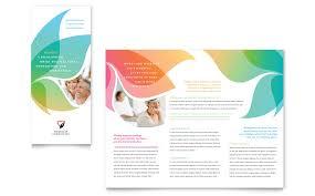 office word brochure template tri fold brochure template