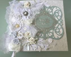 wedding scrapbook albums 12x12 wedding scrapbook etsy