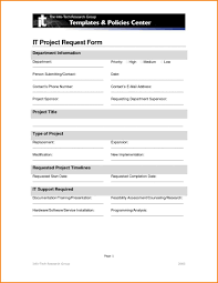 Service Request Template Excel Project Request Form Template Business Free Best Idea W Lotcos