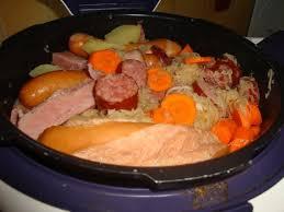 cuisiner choucroute recette choucroute cookeo sur la cuisine de lili de