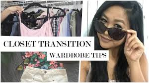 How To Purge Your Closet by How To Get Your Closet Ready For Summer Wardrobe Organization