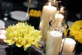 Centerpieces For Dining Room Tables Dining Room Beautiful Candle Centerpieces For Romantic Dining