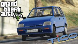 daewoo skandal daewoo tico 티코 gta 5 110 tuning parts youtube