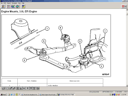 2003 Ford Focus Cooling Fan Wiring Diagram Help Engine Mount Replacement Taurus Car Club Of America Ford