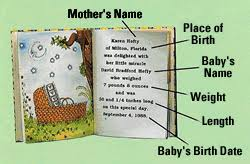 unique baby gifts personalized baby books personalised baby gift